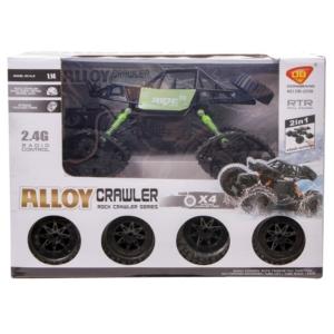 2in1 Alloy Crawler távirányítós autó - 1:14