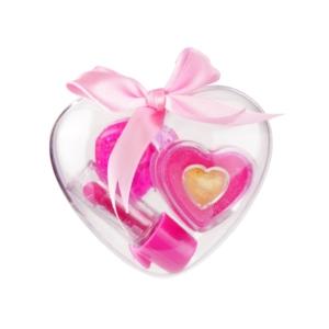 Mini szív alakú szépségszett