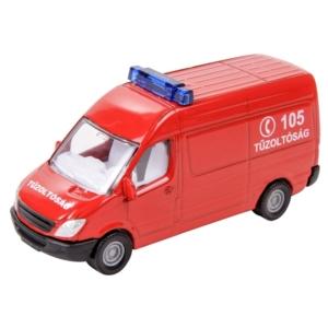 Magyar tűzoltósági autó