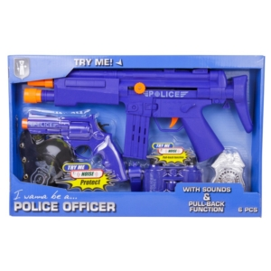 Rendőr játék szett