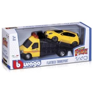 Bburago_RJ Street Fire - autómentő kisautó, 1:43