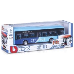 Bburago_RJ City busz 1:43, 19 cm - többféle