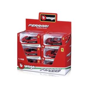 Bburago 1/43 versenyautó - Ferrari