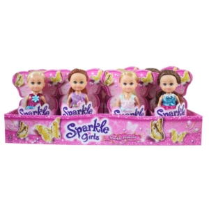 Sparkle girlz - Hercegnő baba 10 cm, 4 féle