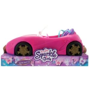 Sparkle girlz_RJ - Rózsaszín kabrió autó