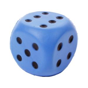 6 cm-es szivacs kocka, 4 féle színválaszték