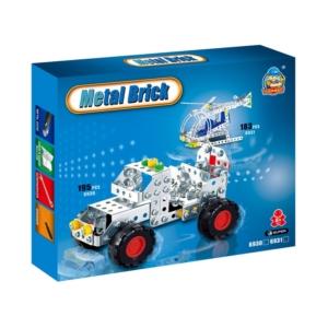 Terepjáró 195 darabos fém építőjáték - 310300266 -