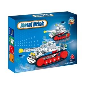 Tank 198 darabos fém építőjáték - 310300269 -