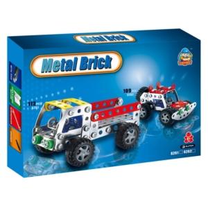 Teherautó 112 darabos fém építőjáték - 310300356 -