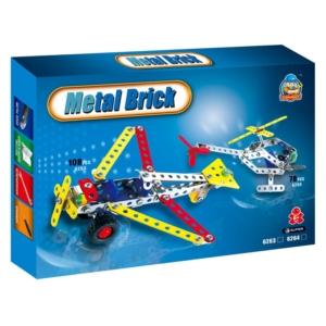 Repülőgép 108 darabos fém építőjáték  - 310300358 -