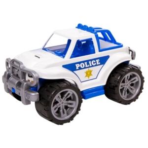 Műanyag dzsip - rendőr