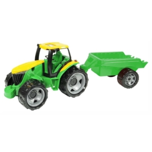 Óriás Traktor utánfutóval