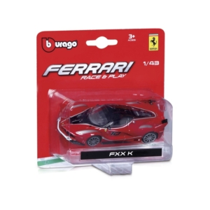 Bburago_RJ Ferrari versenyautó 1:43