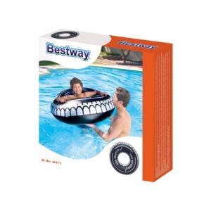Bestway_RJ 36102 Autókerék mintás úszógumi - 119 cm