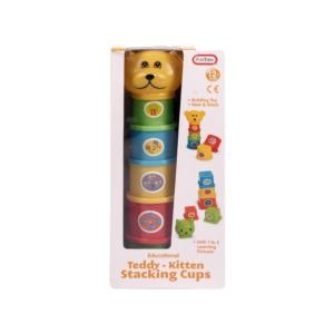 Teddy toronyépítő.