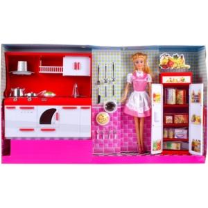 Lucy baba konyhája (30 cm babával)