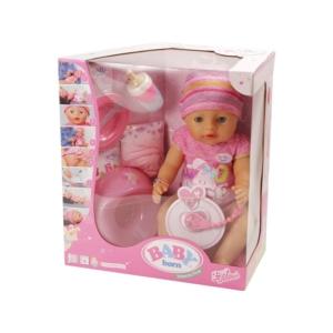 BABY born® - nyolcfunkciós lány baba
