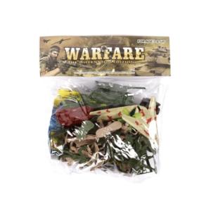 Warfare katonai készlet zacskóban - nagy