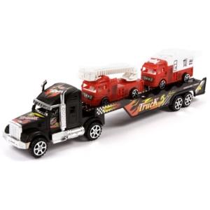 Tűzoltóautó szállító kamion - 43 cm