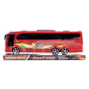 Műanyag távolsági busz - 25 cm, többféle