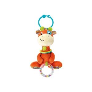 Plüss csörgő - zsiráf