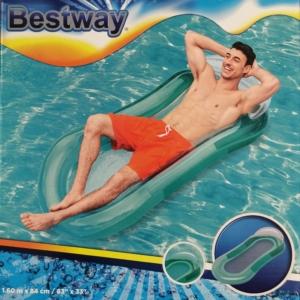 Aqua Lounge fejtámlás hálós matrac 1,6mx84cm