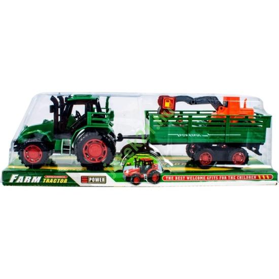 Lendkerekes traktor-30cm