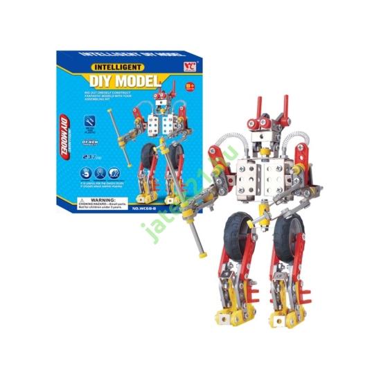 Robot 237 darabos fém építőjáték - WC68B -