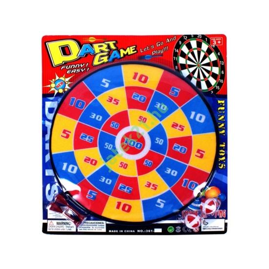 Színes darts tábla - 36 cm -361-K7-