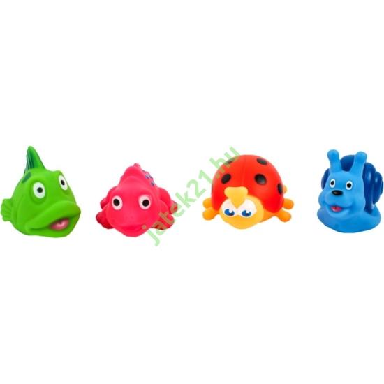 Víziállatok 4 darabos fürdőjáték