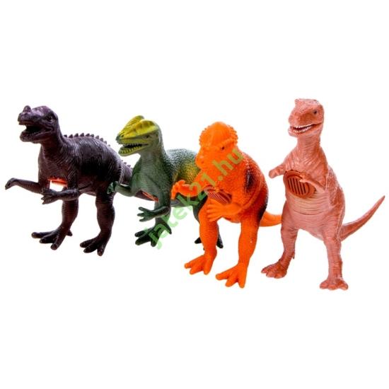4 féle dínoszaurusz figura