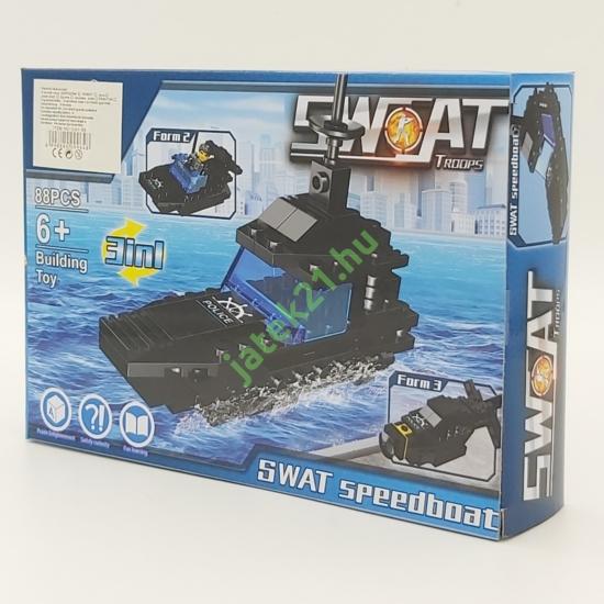 3in1 Építőjáték készlet - Swat Siklóhajó