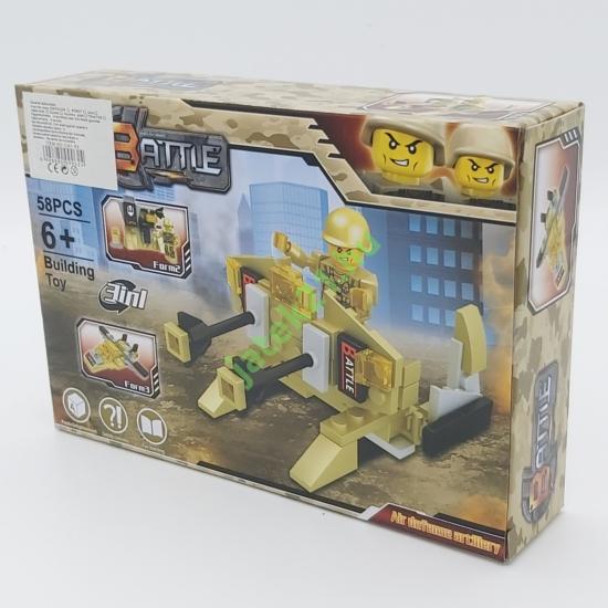 3in1 Építőjáték készlet - Légvédelmi tüzérség