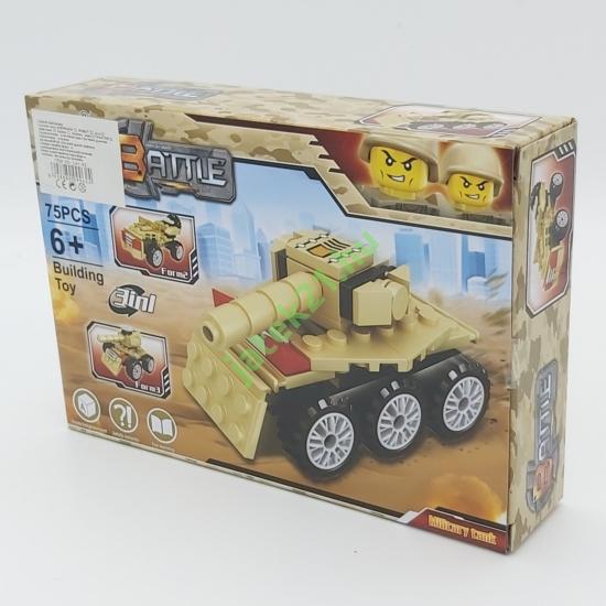 3in1 Építőjáték készlet - Tank