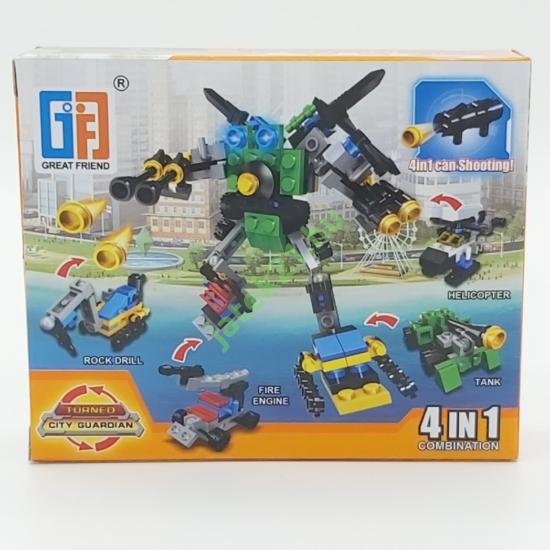 4in1 Építőjáték készlet - Robot