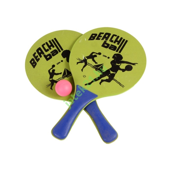 Strandtenisz ütő készlet labdával -STP-5001-B-