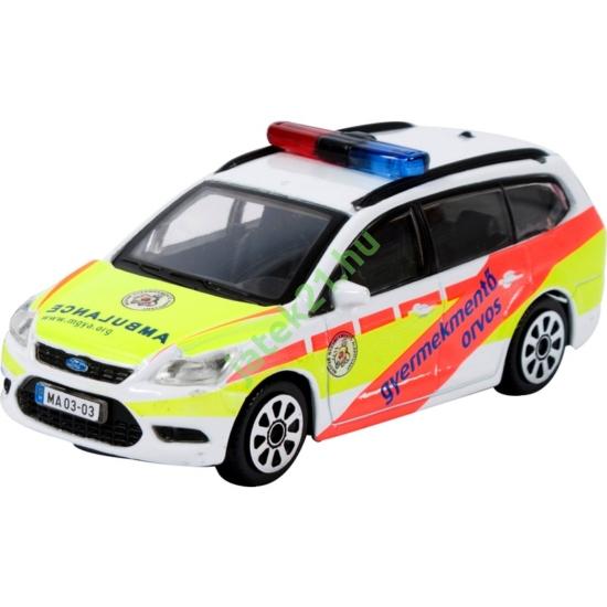 Bburago_RJ 1/43 Gyermek mentőorvosi autó -156-30279-