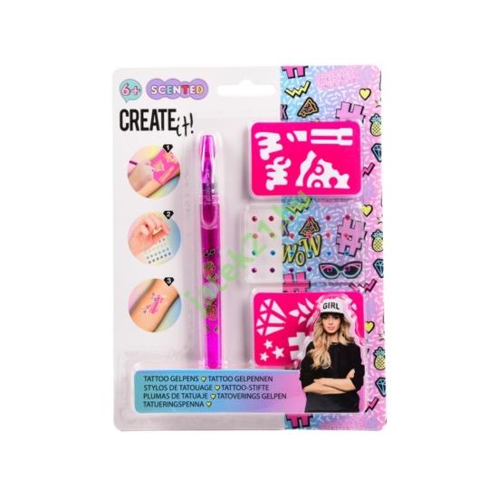Create it! illatos tetováló toll, 3 db-os készlet