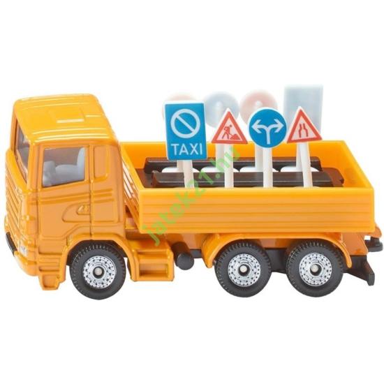 SIKU_RJ: Scania teherautó táblákkal