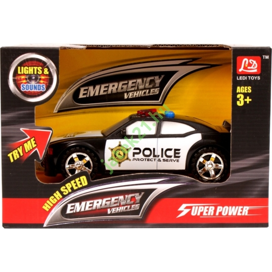 Elemes rendőrautó