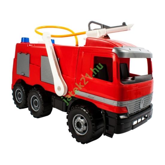 Műanyag tűzoltóautó - Mercedes - 65cm