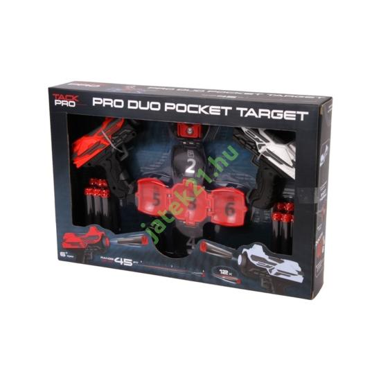 Tack Pro szivacslövő pisztoly készlet célponttal