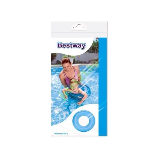 Bestway 36022 Átlátszó úszógumi - 51 cm