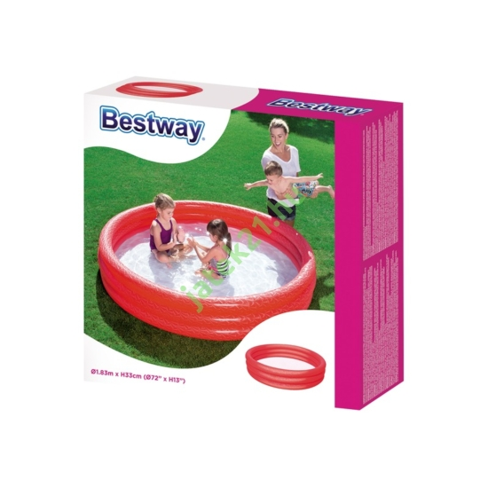 Bestway 51027 Gyűrűs medence 183x33cm