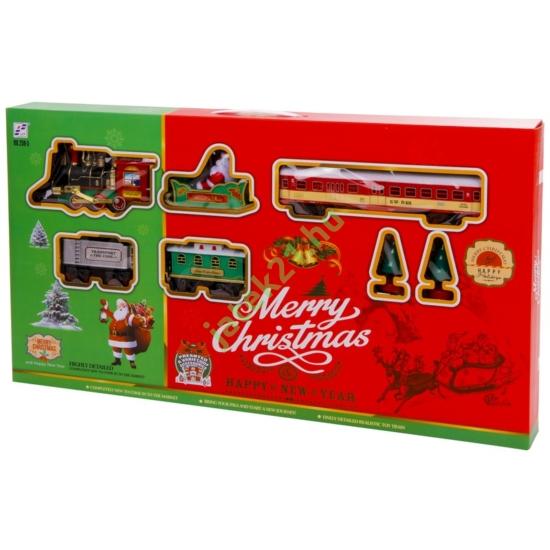 Elemes vonatpálya (merry christmas)