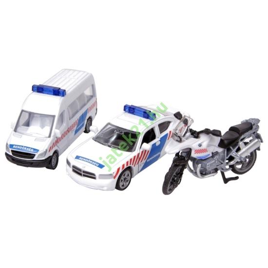 Magyar rendőr autó szett