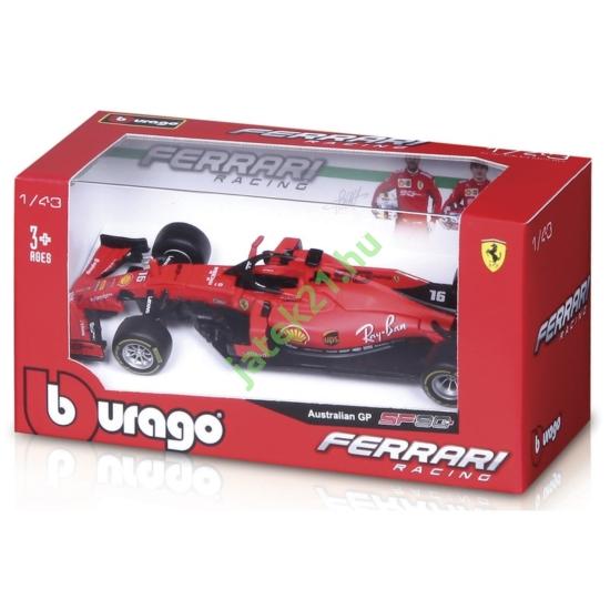 Bburago_RJ Ferrari SF90 versenyautó 1:43