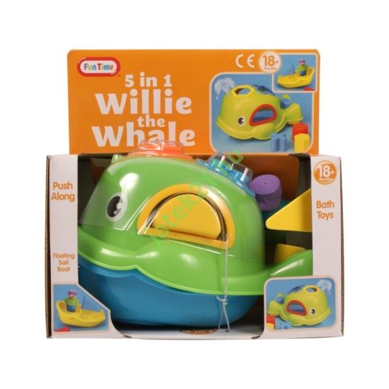 Willie a bálna 5 az 1-ben bébijáték - 5012 -