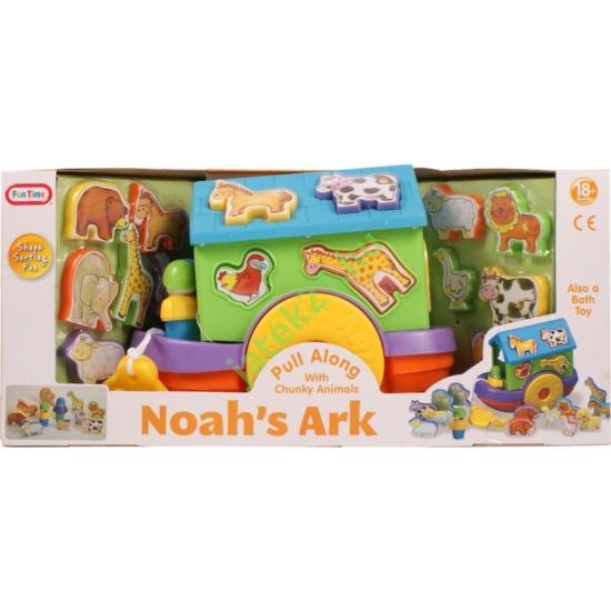 Noé bárkája formakereső vizi játék