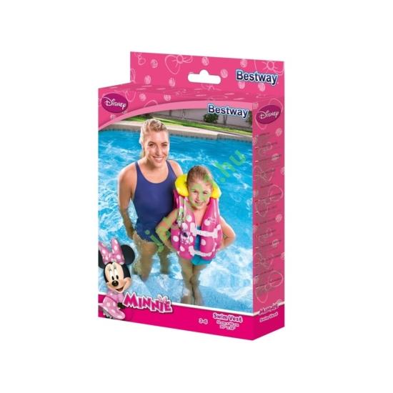 Mickey-Minnie egér úszómellény 51x46cm